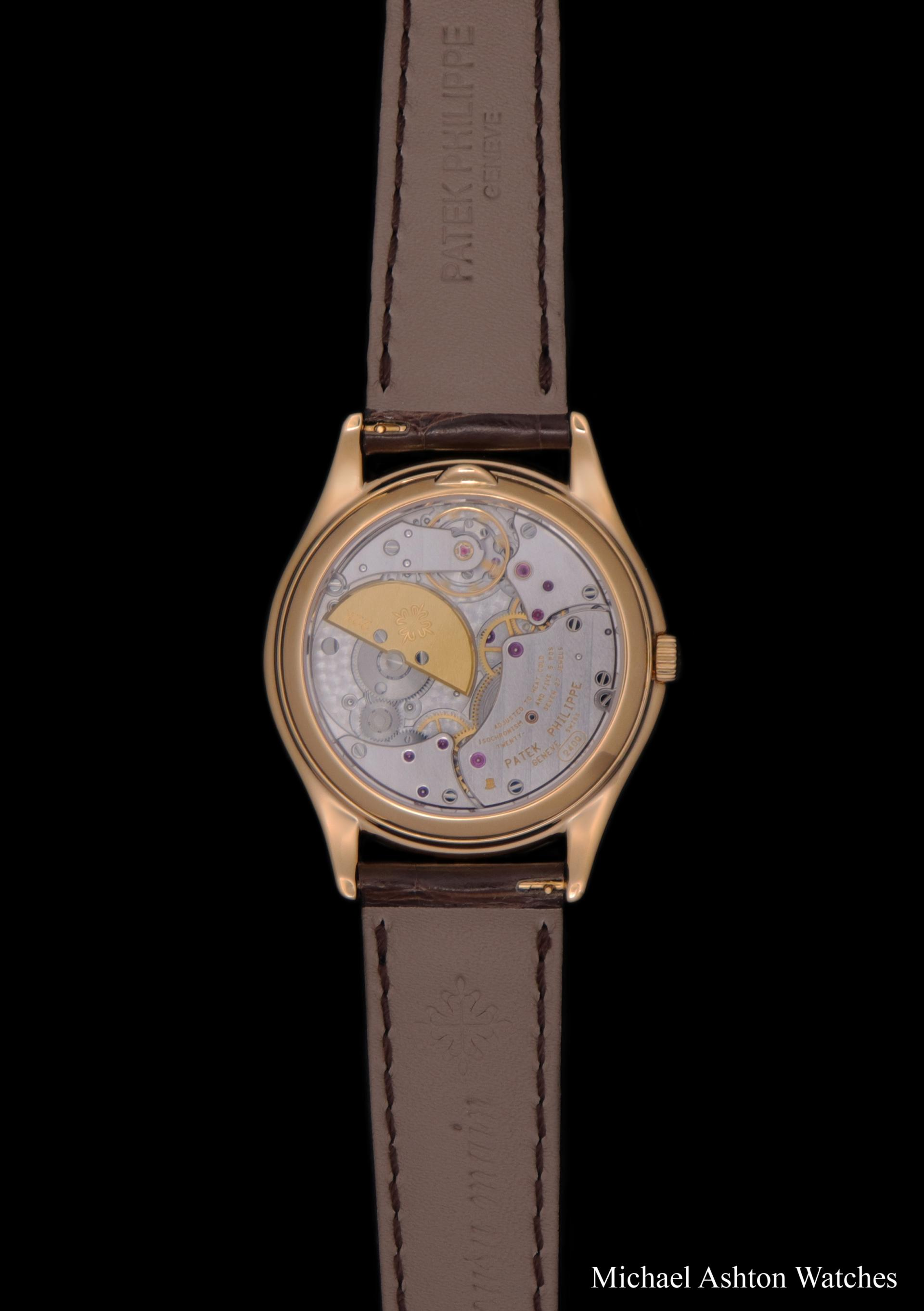 Patek Philippe Factory Serviced